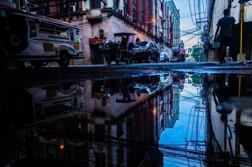 גשם בפיליפינים
